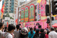 Tai Kok Tsui Temple Fair 2016 Royalty Free Stock Photos
