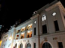 Tai Kwun, centro para la herencia y los artes imagen de archivo libre de regalías