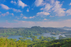 Tai Lam Chung Reservoir au HK image libre de droits