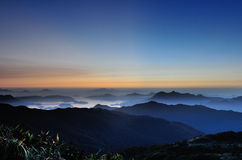 Tai Mo mountain Royalty Free Stock Photos