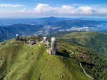 Tai Mo Shan Fotografia de Stock Royalty Free