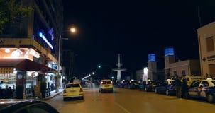Tai on  Nikis Avenue  in Thessaloniki Greece stock video footage