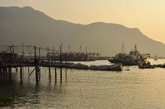 Tai O fishing village, Lantau island Hong Kong Royalty Free Stock Photos