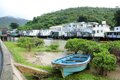 Tai O fishing village Stock Image