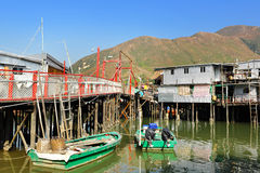 Tai O Fishing Village Stock Photography