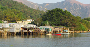 Tai O fishing village Stock Photos