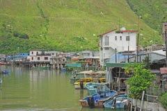 Tai O Fishing Village Stock Image