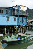 Tai O fishing village Stock Images