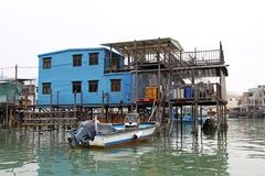 Tai O, the fishing village in Hong Kong Royalty Free Stock Image