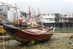 Tai O, the fishing village in Hong Kong Royalty Free Stock Photos