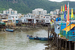 Tai O fishing village in Hong Kong Royalty Free Stock Photography