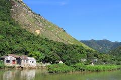 Tai O, the fishing village in Hong Kong Stock Photography