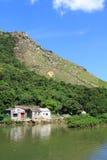 Tai O, the fishing village in Hong Kong Royalty Free Stock Photo