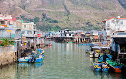 Tai O fishing village, Hong Kong Stock Photos