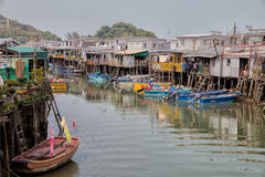 Tai O fishing village, Hong Kong Royalty Free Stock Photography
