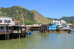Tai O fishing village in Hong Kong Royalty Free Stock Image