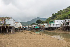 Tai O fishing village in Hong Kong Stock Images