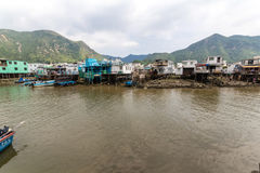 Tai O fishing village Lantau Island Hong Kong Royalty Free Stock Photo