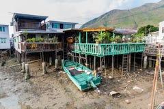 Tai O fishing village Lantau Island Hong Kong Stock Photos