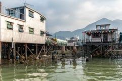 Tai O fishing village stilt houses in Hong Kong Stock Photo