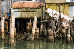 Tai O fishing village stilt houses in Hong Kong Royalty Free Stock Photography