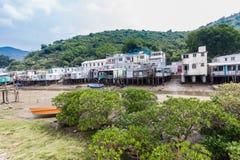 Tai O het Eiland Hong Kong van Lantau van het visserijdorp Royalty-vrije Stock Foto