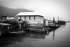 Tai O - Hong-Kong Imagenes de archivo