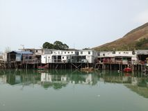 Tai O House Royalty Free Stock Photo