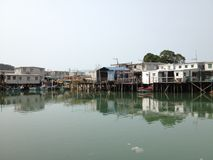 Tai O House Stock Photo