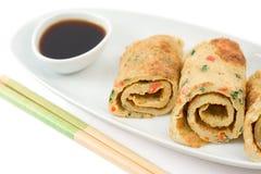 Tai-Omelett Stockbilder