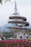 Tai Po Lookout Tower Immagini Stock Libere da Diritti
