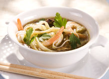 Tai soup Stock Photography