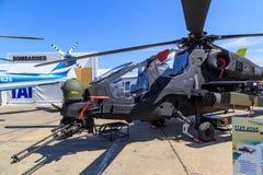 TAI T129 ATAK直升机 库存照片