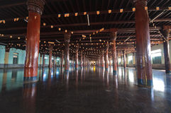 Tai Ta Ya monaster lub Sao Roi tony świątynia Obraz Stock