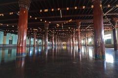 Tai Ta Ya Monastery eller Sao Roi Ton Temple Fotografering för Bildbyråer