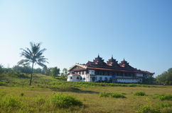 Tai Ta Ya Monastery o sao Roi Ton Temple, Myanmar Fotografía de archivo libre de regalías