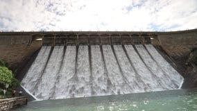 Tai Tam Dam in Hong Kong stock footage