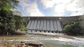Tai Tam Dam in Hongkong stock video