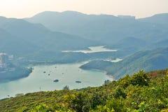 Tai Tam-haven Royalty-vrije Stock Afbeeldingen