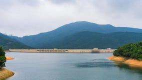 Tai Tam Reservoir en el Monte Parker, Hong Kong foto de archivo libre de regalías