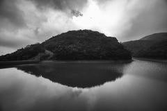 Tai Tam Reservoir Hong Kong Arkivbilder