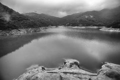 Tai Tam Reservoir Hong Kong Royaltyfri Fotografi