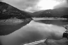 Tai Tam Reservoir Hong Kong Arkivfoton