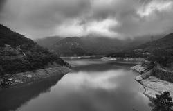 Tai Tam Reservoir Hong Kong Arkivbild