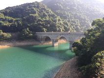 Tai Tam Reservoir. Hong Kong Stock Photography