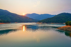 Tai Tam Tuk reservoir Royalty Free Stock Photo