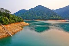 Tai Tam Tuk reservoir sunset Royalty Free Stock Photos