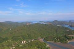 Tai Tun view of  sai kung Stock Photo
