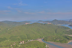 Tai Tun view of  sai kung Royalty Free Stock Photography