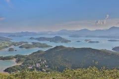 Tai Tun view of  sai kung Stock Image
